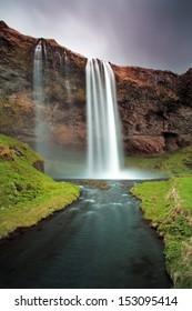 Iceland waterfall - Seljalandsfoss