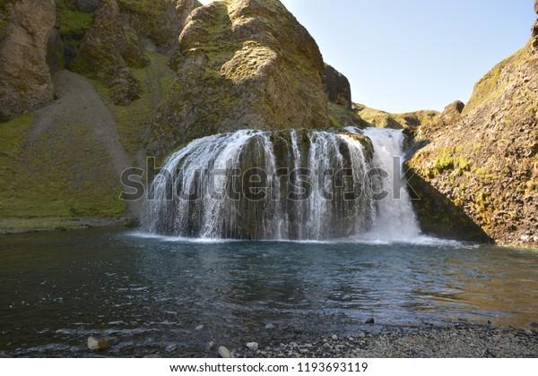 Icelandic fall near Vik