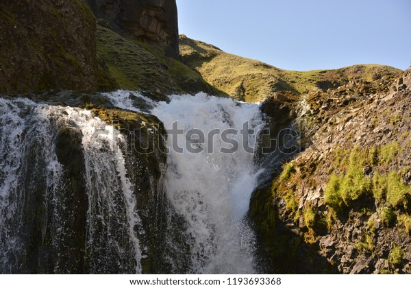 Icelandic fall in the summer