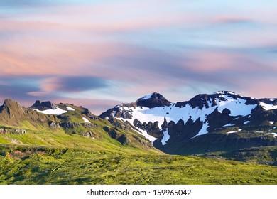 Icelandic landscapes.