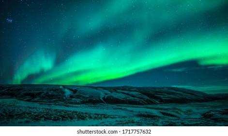 Icelandic Northen Light whit star