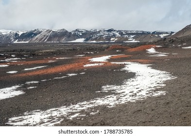 The Icelandic plateau in the vicinity of the Askja volcano,