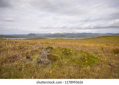 Icelandic rough landscape