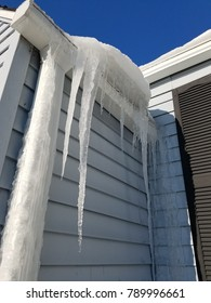 icicles on the roof