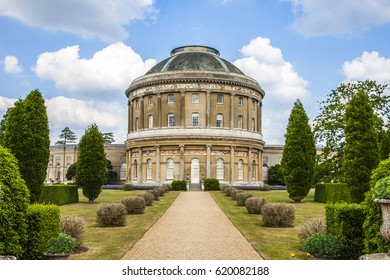 Ickworth house on a spring day
