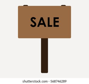 icon sale sign