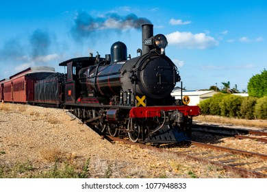 The iconic 207 Steam Cockle train in Middleton South Australia on Tuesday 24th April 2018