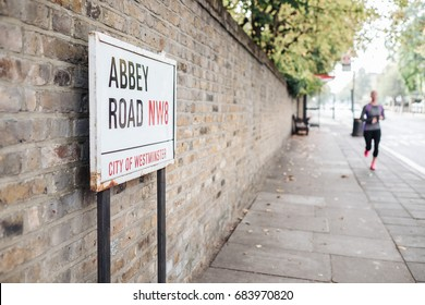 The iconic Abbey road in London city, Uk