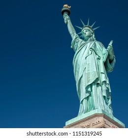 The iconic American Symbol the Statue of Liberty.