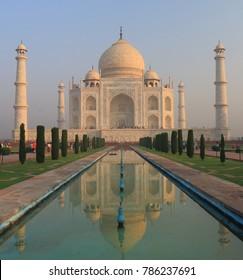 Iconic architecture Taj Mahal Agra India