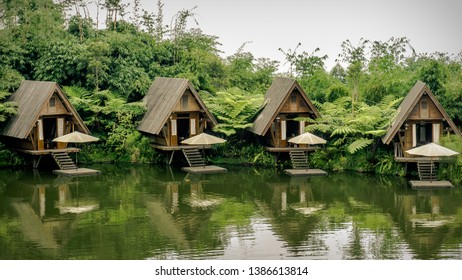 The Iconic Bamboo Houses at Dusun Bambu, Bandung, Indonesia