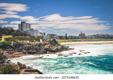 Iconic Bondi beach in Sydney, Australia