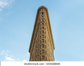 the iconic flatiron building