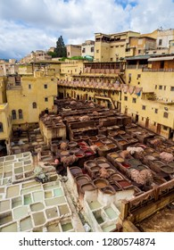 Iconic Leather Tanning Factory in Morocco