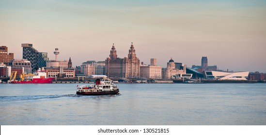 Iconic Liverpool Skyline