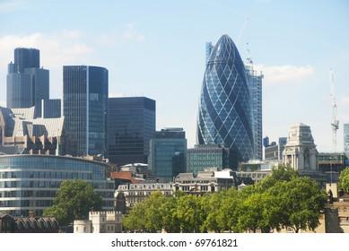 Iconic London architecture