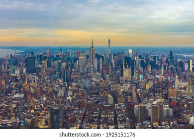 Iconic New York City Skyline