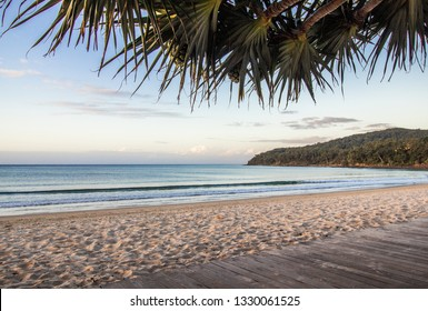 The Iconic Noosa Main Beach at Sunrise -  A rare sight of the beach without a single person The perfect holiday destination!