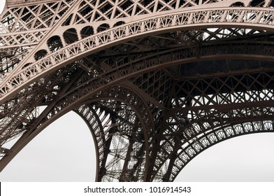 iconic steel structure detail background
