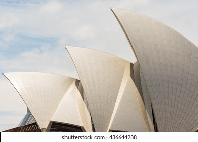 The Iconic Sydney Opera House is a multi-venue performing arts centre also containing bars and outdoor restaurants on JANUARY 28, 2016 in Sydney, Australia.