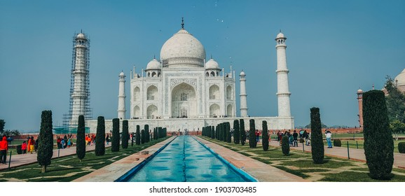 The iconic Taj Mahal of India