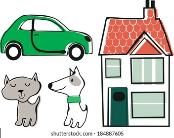 icons for household