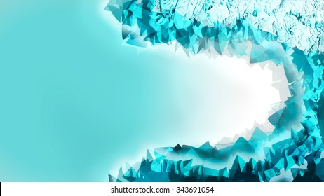 Icy Abstract Background