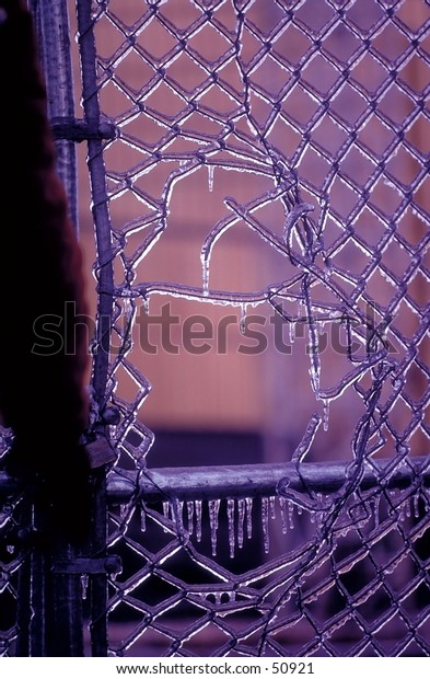 Icy Fence Hole