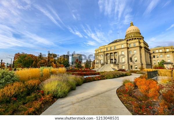 Idaho  Capitol Building in downtown Boise, Idaho