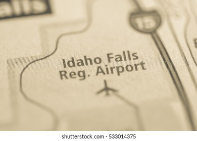 Idaho Falls Regional Airport. Idaho. USA