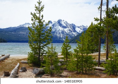Idaho's beautiful Redfish Lake and Sawtooth Mountains are located near Stanley.