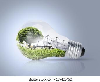 Idea ,a light bulb