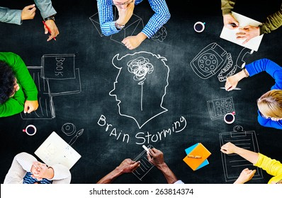 Idea Creativity Inspiration Thought Planning Concept