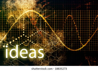 Ideas Abstract Business Concept Wallpaper Presentation Background
