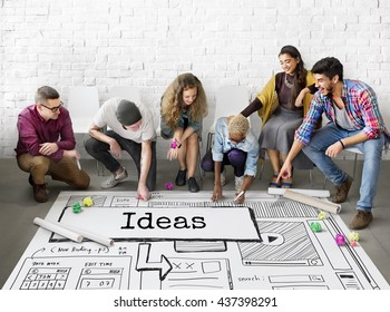 Ideas Create Conceptualize Innovation Think Concept