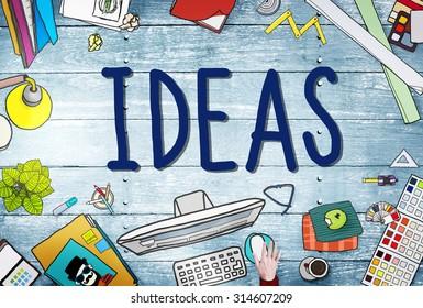Ideas Creative Strategy Tactics Vision Concept