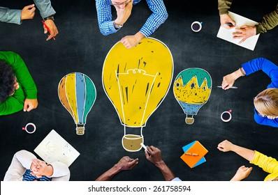 Ideas Thinking Concept Inspiration Creativity Concept