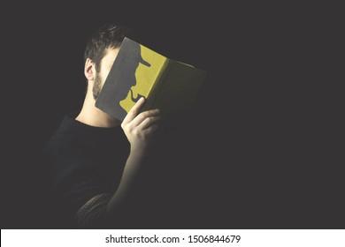 identify oneself in a thriller book
