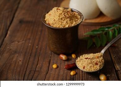 Idli Podi or chutney Powder- dry condiment for South Indian breakfast