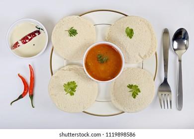 Idli Sambar a South Indian popular food