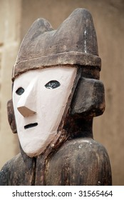 An Idol at Chan Chan, Peru
