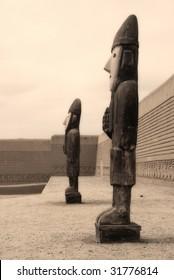 Idols at Chan, Chan, Peru