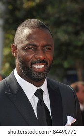 Idris Elba at the 2011 Primetime Creative Arts Emmy Awards at the Nokia Theatre L.A. Live. September 10, 2011  Los Angeles, CA Picture: Paul Smith / Featureflash