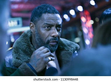 Idris Elba  attends the 'Yardie' premiere during the 68th Berlinale International Film Festival Berlin at Zoo Palast on February 22, 2018 in Berlin, Germany.