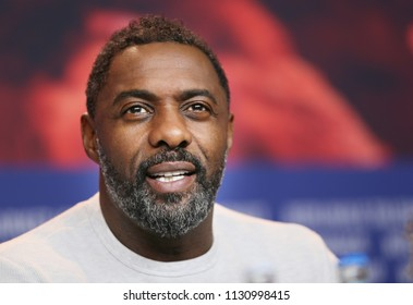 Idris Elba attends the 'Yardie' press conference during the 68th Berlinale International Film Festival Berlin at Grand Hyatt Hotel on February 22, 2018 in Berlin, Germany.