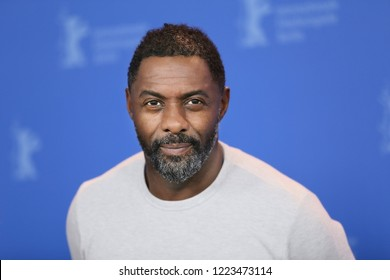 Idris Elba poses at the 'Yardie' photo call during the 68th Berlinale International Film Festival Berlin at Grand Hyatt Hotel on February 22, 2018 in Berlin, Germany.
