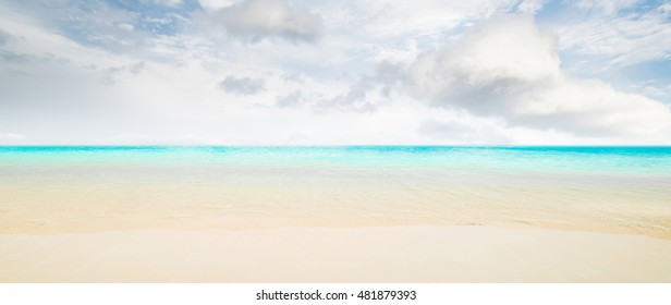 Idyllic beach - tropical summer resort