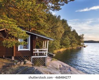 Idyllic cottage next to the Baltic Sea