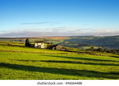 Idyllic farmhouse in Rural England.
