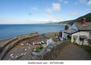 Idyllic Fishing Village Clovelly